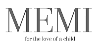MEMI for the love of the child logo